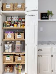 how to organise a kitchen without cabinets how to organize a cabinet style pantry style dwell