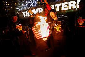 Flag Burning Protest Why Trump U0027s Flag Burning Tweet Is Disturbing