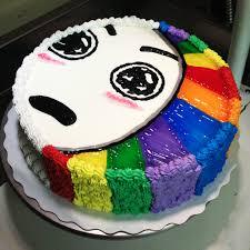 Rainbow Meme - rainbow meme cake by chiingaling on deviantart