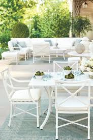 suzanne kasler how to decorate podcast how to decorate suzanne kasler s new white directoire outdoor furniture collection for ballard designs