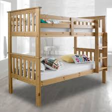 Atlantis Solid Pine Wooden Bunk Bed - Pine bunk bed