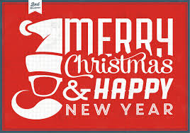 hipster santa christmas vector background download free vector