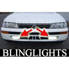 toyota corolla fog lights blinglights 1992 1993 1994 1995 1996 1997 toyota corolla se ltd