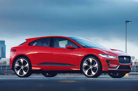 jaguar i pace concept gets photon red paint job for geneva motor
