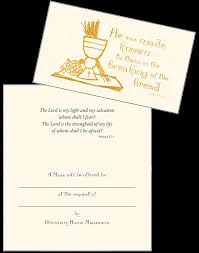 catholic mass cards glenmary home missioners