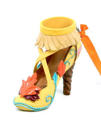 new disney parks pocahontas princess shoe heel resin