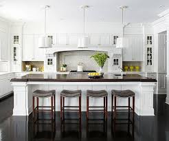 Banister Remodel White Kitchen Cabinets With Gray Kitchen Island