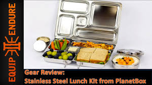 Pottery Barn Planetbox Planetbox Stainless Steel Rover Lunch Box Gear Overview By Equip 2