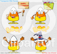 halloween candy background clipart of cartoon halloween candy corn characters 3 royalty