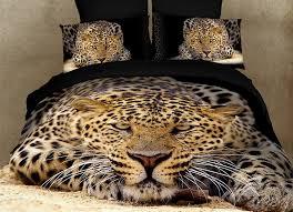 dolce mela bedding queen size animal theme duvet cover set
