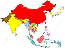 Map Of Se Asia by Color Map Of South East Asia Stock Photo Picture And Royalty Free