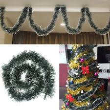 party pine garland christmas ribbon string xmas tree hanging