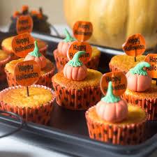 calabazas de halloween muffins de calabaza receta norteamericana para halloween con