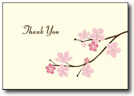thank you photo cards cherry blossom thank you cards desktop supplies