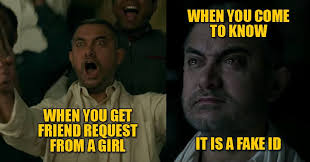 Indian Girl Memes - here are some awesome dangal memes which prove why aamir is one of