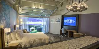 courtyard simulates super bowl sleepover contest with 4d vr dome