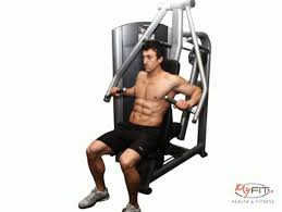 Seated Bench Press Chest Anatomy And Training With Exercises Of All Types Myfit