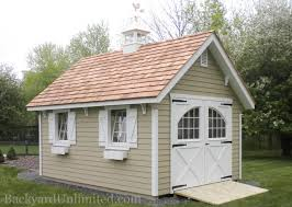 sheds custom backyard unlimited