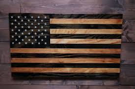 How To Display American Flag On Wall Old Glory American Flag Military Veteran Made Wood Flag