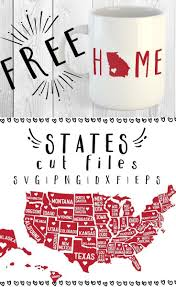 free 51 states svg png dxf u0026 eps by caluya design cricut svg