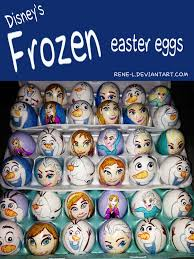 Easter Egg Decorating Olaf by Frozen Themed Easter A Collection Of Ideas To Try About Other