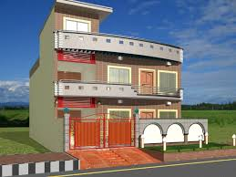 Modern Homes Exterior Designs Front Views Building Plans line