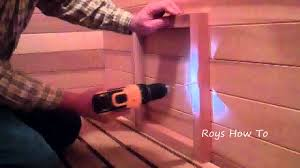 how to repair a basement sauna youtube
