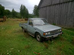 nissan datsun 1982 1982 datsun 720 pickup diesel engine youtube