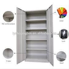 powder coating upright storage cabinet knock down office filing