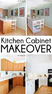 Average Cost To Reface Kitchen Cabinets Kitchen Cabinet Makeover Reveal