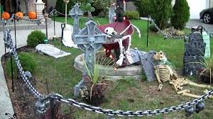 Scary Outdoor Halloween Decorations by Creepy Halloween Decorating Ideas Homemade Scary Halloween