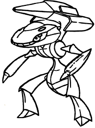 genesect pokemon coloring pages coloring pages kids 3343
