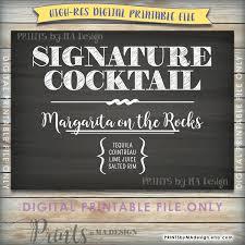 chalkboards for home bar menu wedding bar sign cocktail signature