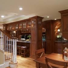basement home design ideas with bars for basements using recessed
