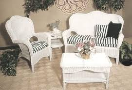 Plain White Wicker Furniture And Ideas - Outdoor white wicker furniture