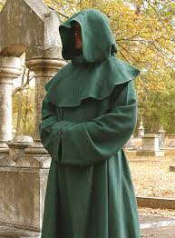 druidic robes monk s habit dominus green maskworld