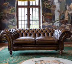Chesterfield Sofa  Leather  Seater  Seater ROYAL CHELSEA - Chelsea leather sofa 2