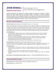 sample staff nurse resume cover letter template for nursing