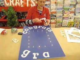 graduation sign crankin out crafts ep228 lighted portrait graduation sign