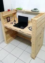 Diy Pallet Desk Pallet Desks Pallet Office Furniture Upsite Me