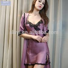 honeymoon nightgowns nighty designs 2017 women s sleeve bathrobe silk