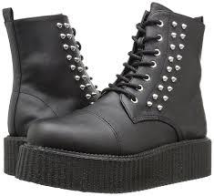 demonia v creeper 573 blk vegan leather uk 8 eu 41 men u0027s shoes