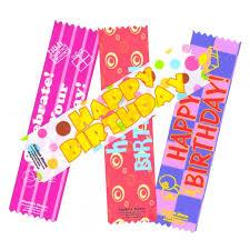 happy birthday ribbon happy birthday satin ribbon bookmarks max l cowen s student stores