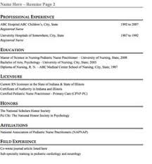 download pediatric nurse resume haadyaooverbayresort com
