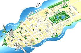 Map Manhattan New York City Maps Nyc Mesmerizing Map Of Manhattan With