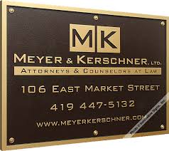signs attorney signs signs lawyer signs bronze