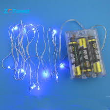 Battery Powered Led Lights Outdoor by Led Fairy Lights Battery Operated 2m String Lights 20led Christmas