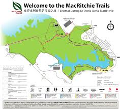 Map Run Route by Macritchie Reservoir Loop 10km Singapore Run Can