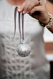 10 diy glitter tree ornaments shelterness