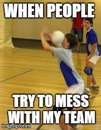 Funny Softball Memes - volleyball memes volleyball pinterest